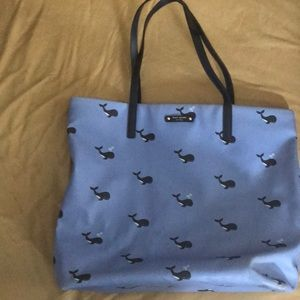Kate space whale tote